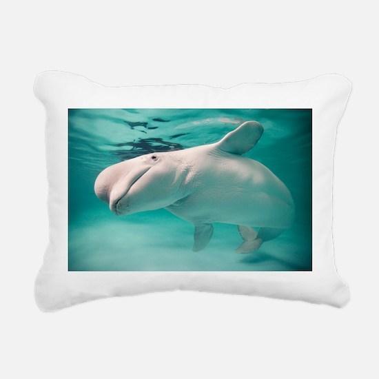 Beluga whale, Delphinapterus leucas - Pillow