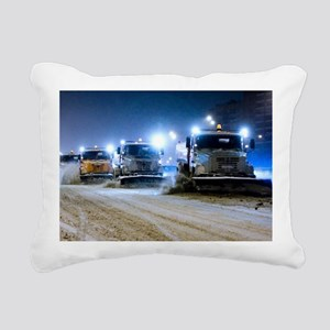 Clearing snow from a road - Pillow