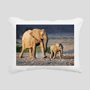Desert-adapted elephants - Pillow
