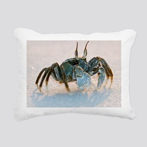 Ghost crab on sand - Pillow