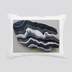 Folded strata in gneiss rock - Pillow