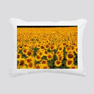 Field of sunflowers, France - Pillow