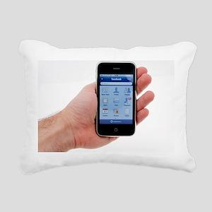 IPhone with facebook display - Pillow