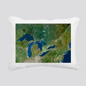 Great Lakes, satellite image - Pillow