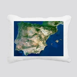 Iberian Peninsula, satellite image - Pillow