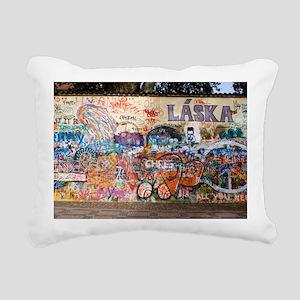 Lennon Wall, Prague - Pillow