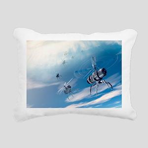 Nanodrones, artwork - Pillow