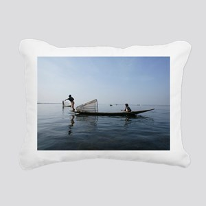 Inle lak Traditional fishing - Pillow