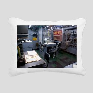 Operations room on USS Intrepid - Pillow