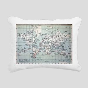 Map2 Darwin's Beagle Voyage South America - Pillow