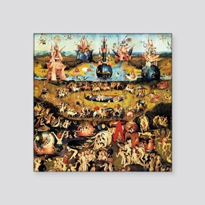 Hieronymus Bosch Garden Of Earthly Delights Square