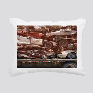 Scrap Cars in Transit for Recycling - Pillow