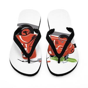 59731e051e3c1e Scooter Flip Flops - CafePress