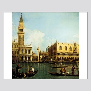 Canaletto The Pier Small Poster