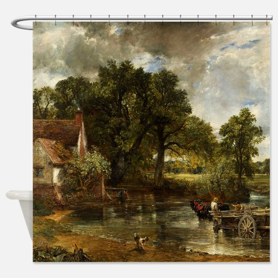 John Constable Hay Wain Shower Curtain