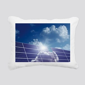 Solar panels in the sun - Pillow