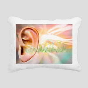 Tinnitus, conceptual artwork - Pillow