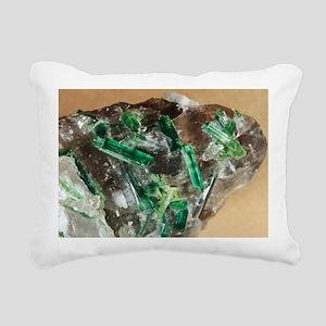 Tourmaline crystals in quartz - Pillow