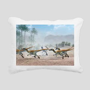 Velociraptor dinosaurs - Pillow