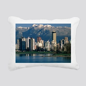 View of Vancouver, Canada - Pillow