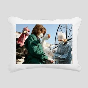 Bird flu vaccination - Pillow