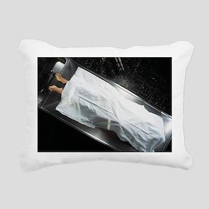Dead body in a mortuary - Pillow