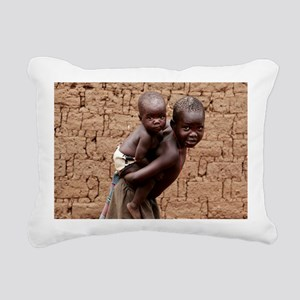 Child carrying a baby - Pillow