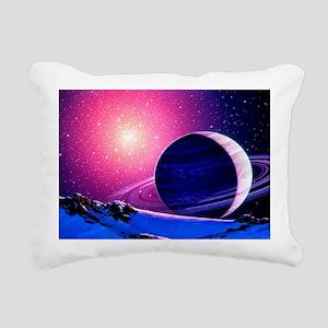 Artwork of a brown dwarf star - Pillow