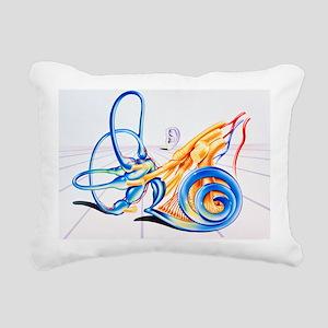 Artwork of inner ear - Pillow