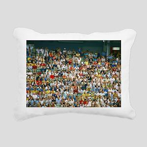 Crowd of spectators - Pillow