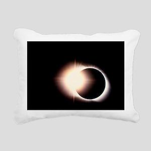 Diamond ring effect, total solar eclipse - Pillow