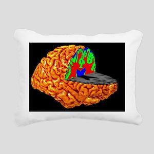 Human brain, 3-D MRI scan - Pillow