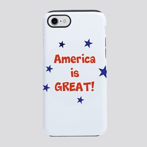 America is great iPhone 7 Tough Case