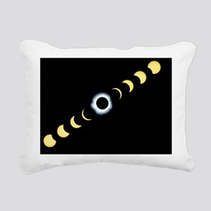 Timelapse image of a total solar eclipse - Pillow