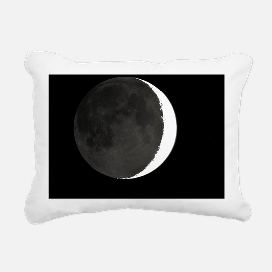 Crescent Moon and Earthshine - Pillow
