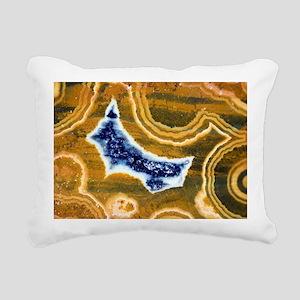 Cut and polished jasper - Pillow