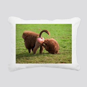 Baboons grooming - Pillow