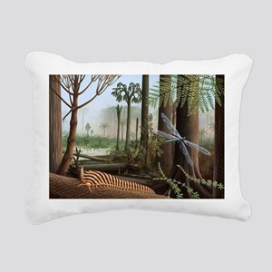 Carboniferous insects, artwork - Pillow