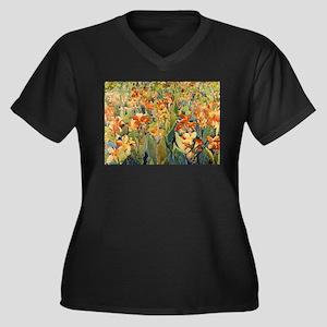 Maurice Prendergast Bed Of Flowers Women's Plus Si