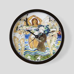 Maurice Prendergast Sea Maiden Wall Clock