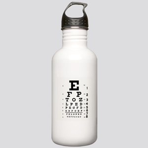 Eye Chart Stainless Water Bottle 1.0L