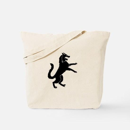 Stark Direwolf Tote Bag