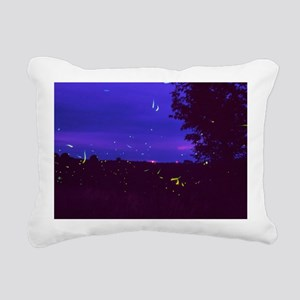Fireflies over bean fields in Iowa - Pillow