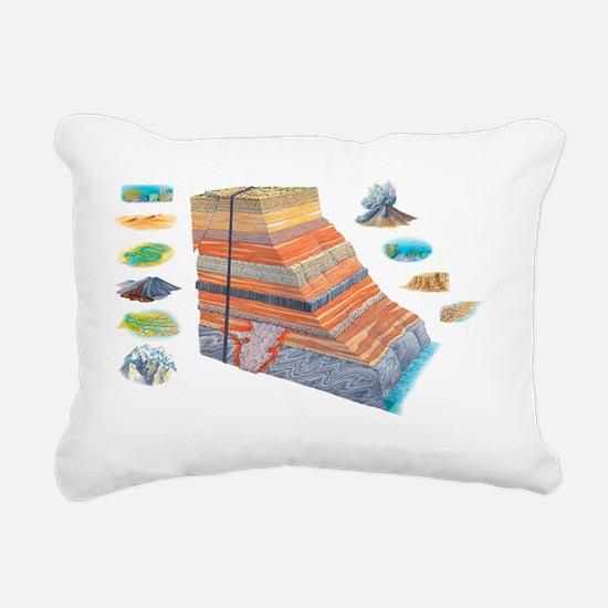 Geological formations, artwork - Pillow