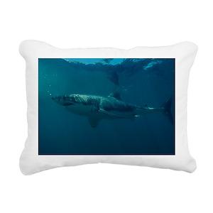 57991ed17f81 Great White Shark Pillows - CafePress