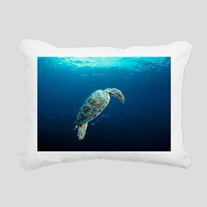 Green turtle - Pillow