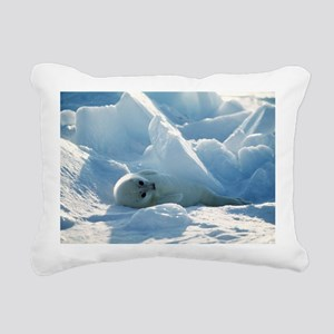Harp seal pup - Pillow