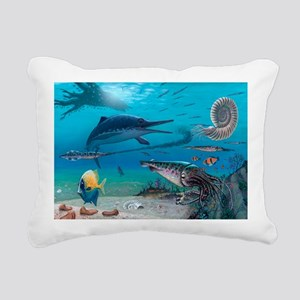 Ichthyosaur and prey - Pillow