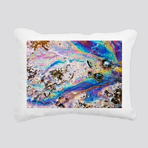 Interference pattern of oil on water - Pillow