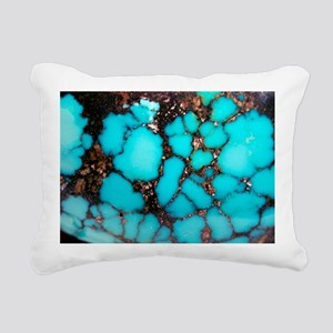Polished turquoise cabochon - Pillow